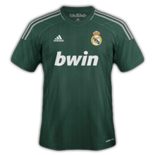 Maillot de foot 2012-2013 de real madrid 3 ème