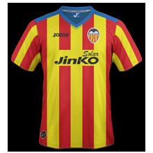 Maillot de foot 2011-2012 de valencia  3 ème