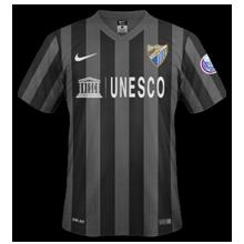 Maillot de foot 2014-2015 de malaga maillot football extérieur 2014 2015