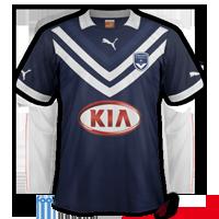 Maillot de foot 2012-2013 de bordeaux domicile