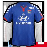 Maillot de foot 2012-2013 de lyon exterieur 2012 2013