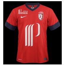 Maillot de foot 2013-2014 de lille domicile