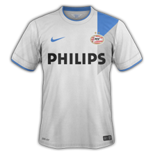 Maillot de foot 2014-2015 de psv maillot extérieur foot 2014 2015