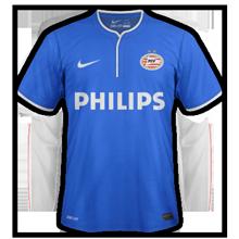 Maillot de foot 2014-2015 de psv 3ème maillot third 2014 2015