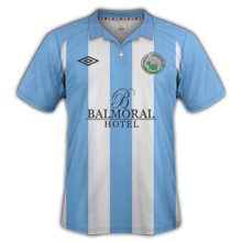 Maillot de foot 2013-2014 de warrenpoint maillot domicile 2013 2014