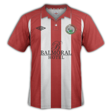 Maillot de foot 2013-2014 de warrenpoint maillot exterieur 2013 2014