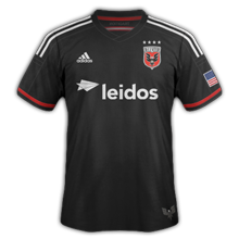 DC United 2015 maillot domicile foot