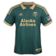 Portland Timbers 3ème maillot third 2015