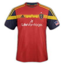 Real Salt Lake maillot domicile 2015