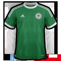maillot Allemagne Euro 2012 exterieur