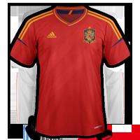 espagne domicile maillot foot 2012 Euro