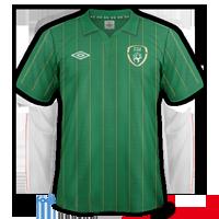 maillot irlande 2012 euro domicile