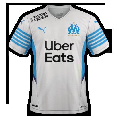 Marseille maillot domicile 2020