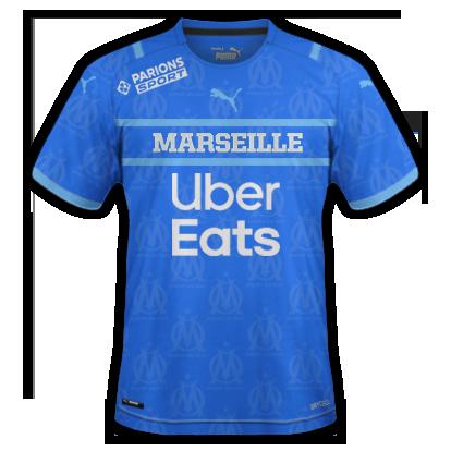Marseille 3ème maillot third 2020
