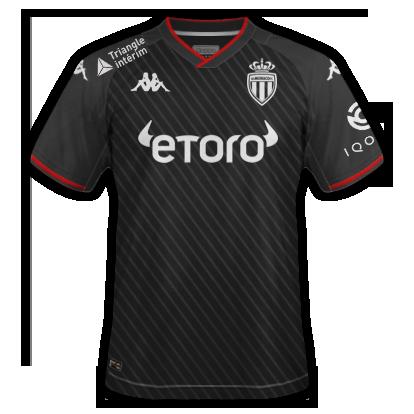 AS Monaco 2020 maillot extérieur