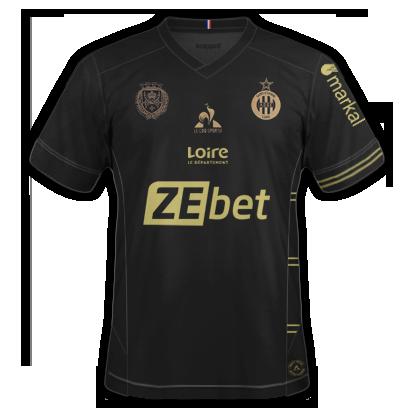 Saint etienne 3ème maillot third 2020-2021