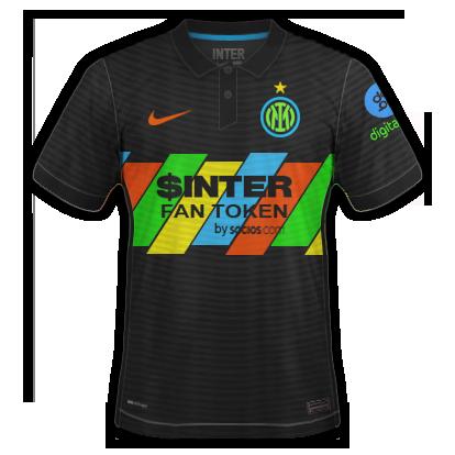 Inter milan 3ème maillot third 2020