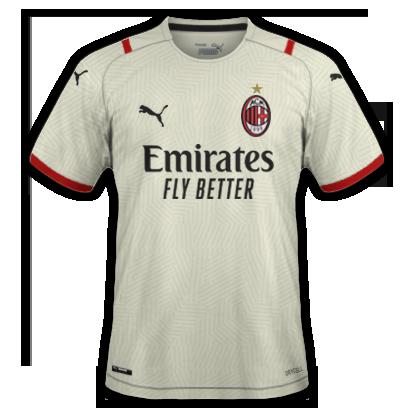 Milan maillot extérieur 2021