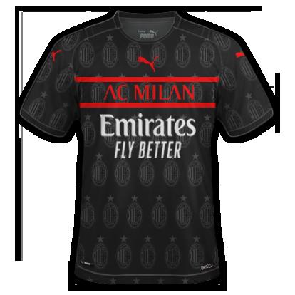 Milan 3ème maillot third 2020