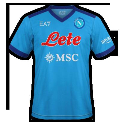 Naples maillot domicile 2020