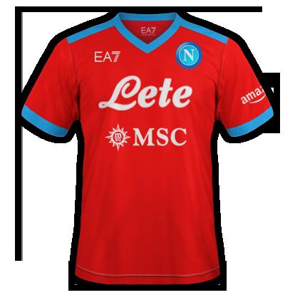 Naples maillot extérieur 2021