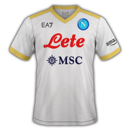Naples 3ème maillot third 2020