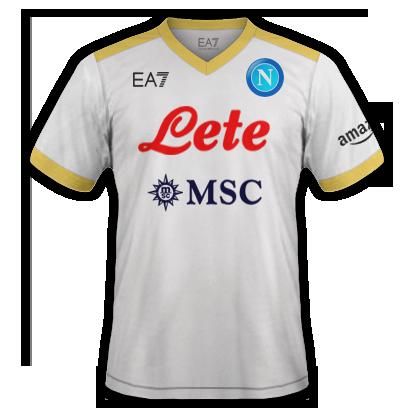 Naples 3ème maillot third 2021