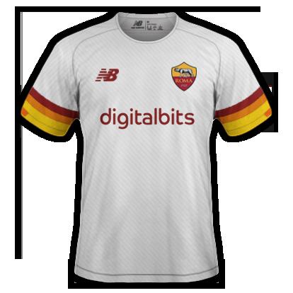 Roma maillot extérieur 2020