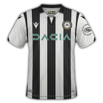 Udinese maillot domicile 2020