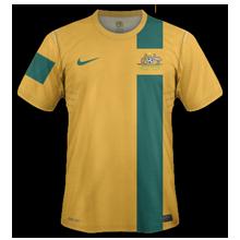 Maillot de foot 2011-2012 de australie  domicile