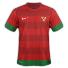 Maillot de foot 2011-2012 de indonesie  domicile