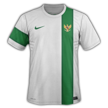 Maillot de foot 2011-2012 de indonesie  exterieur