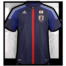 Maillot de foot 2011-2012 de japon  domicile