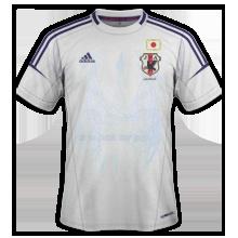 Maillot de foot 2011-2012 de japon  exterieur