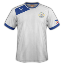 Maillot de foot 2011-2012 de philippines  domicile