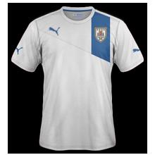 Maillot de foot 2011-2012 de uruguay exterieur
