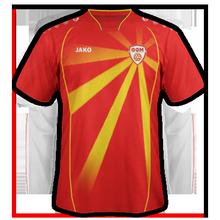 Maillot de foot de macedoine Euro 2020