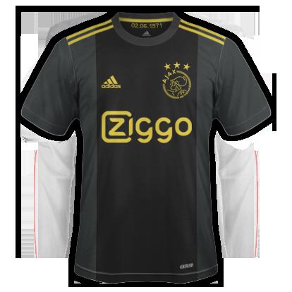 Ajax 3ème maillot third 2021