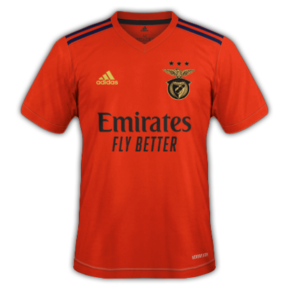 Benfica maillot domicile 2021