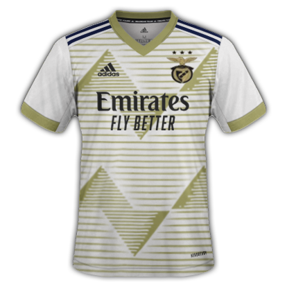 Benfica 3ème maillot third 2021