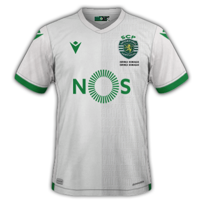 Sporting 3ème maillot third 2021