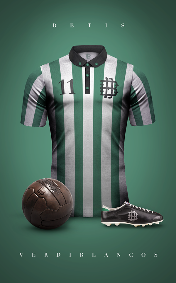 Betis maillot vintage foot
