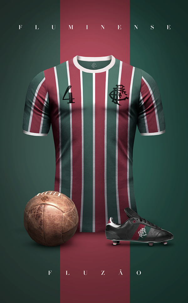 Fluminense maillot vintage football