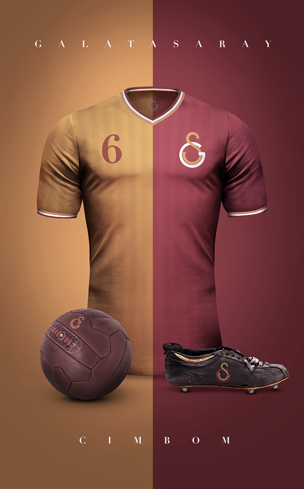 Galatasaray maillot vintage football