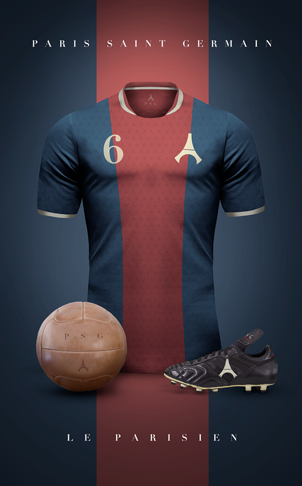 Maillot foot vintage PSG Paris Saint Germain
