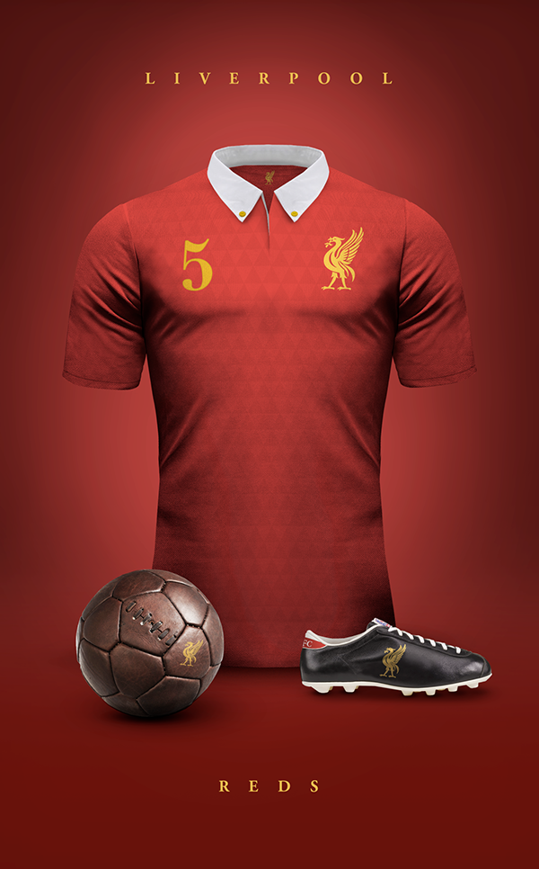 Maillot vintage Liverpool