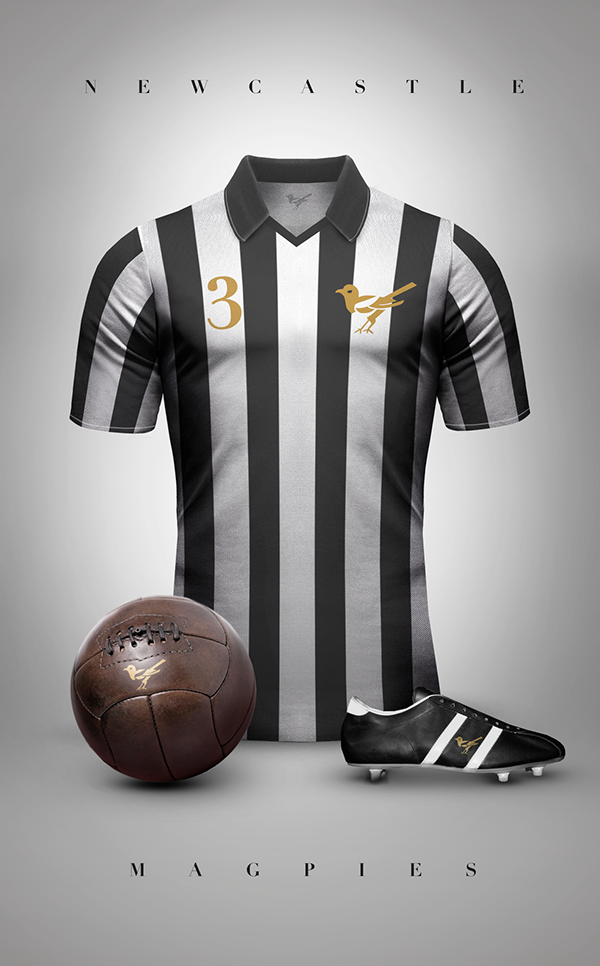 Newcastle maillot vintage football