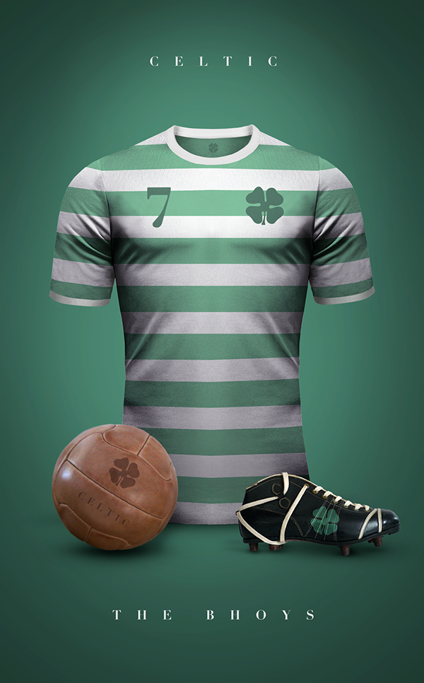 Maillot vintage football Celtic