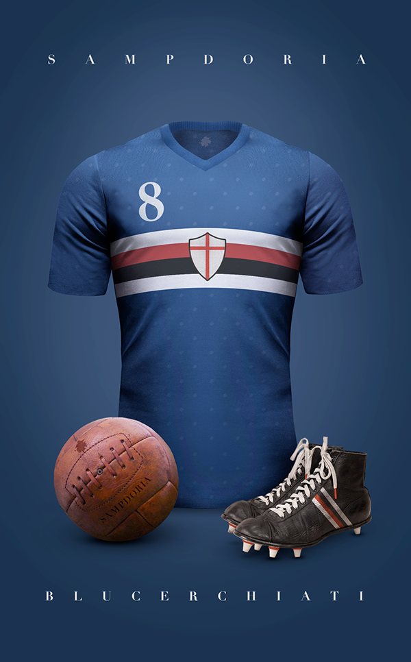 Maillot vintage football Sampdoria
